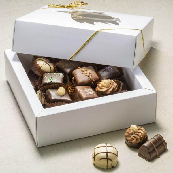 Petit Four dessertchokolade