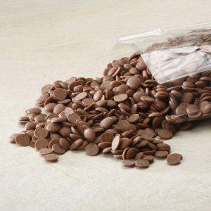 Flødechokoladeknapper