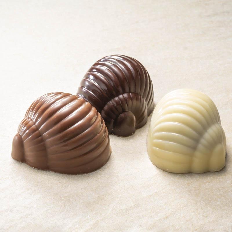 Chokolade snegle